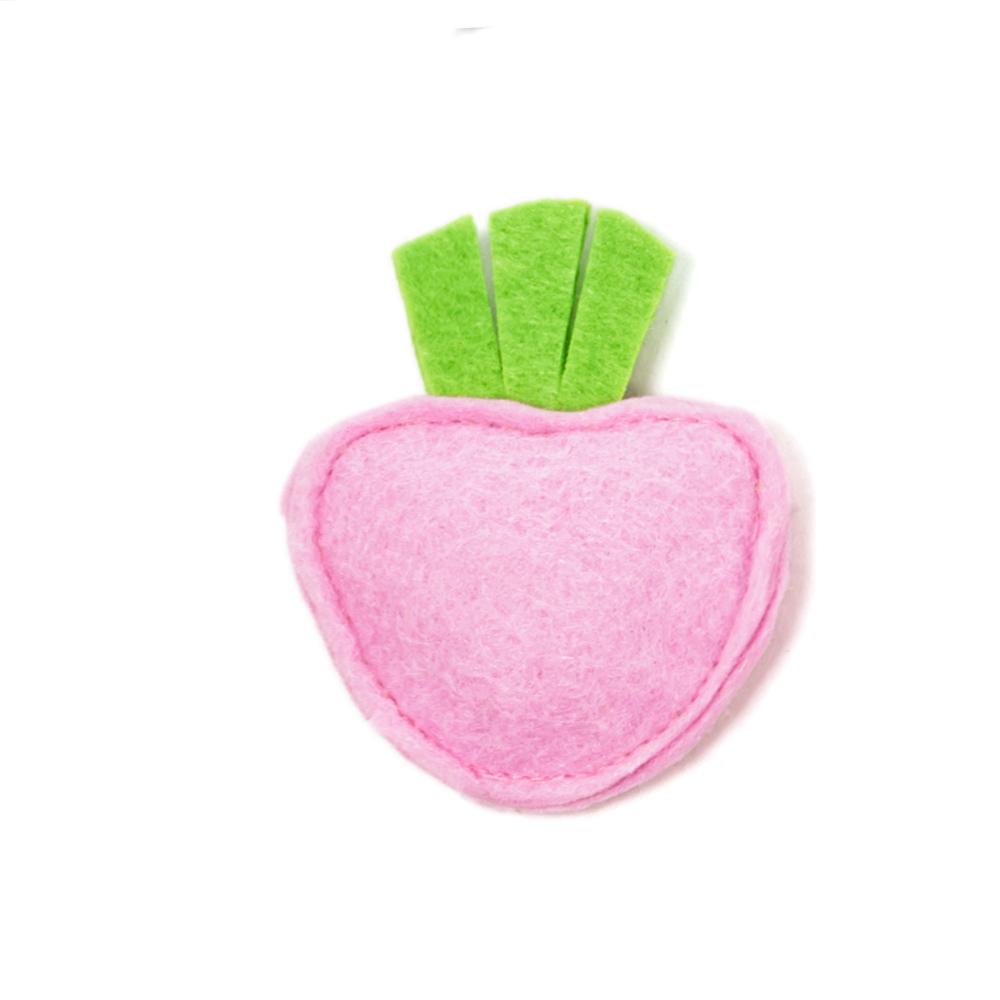 Мини-игрушка КлубничкаТовары для животных<br><br><br>Тип: -<br>Размер: -<br>Материал: Войлок