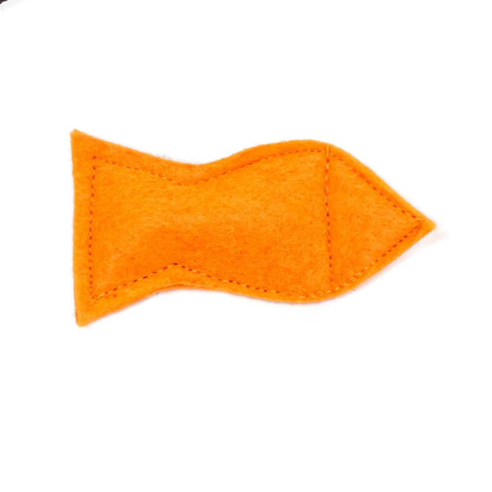 Мини-игрушка Рыбка игрушки для животных smart textile игрушка для кошек сахарная косточка 100