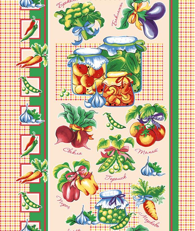 Вафельное полотенце Овощи р. 50х70Вафельные полотенца<br><br><br>Тип: Вафельное полотенце<br>Размер: 50х70<br>Материал: Вафельное полотно