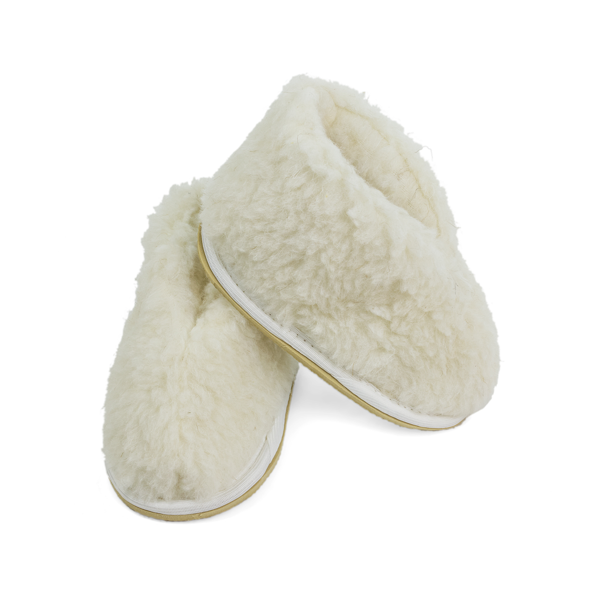 Обувь Бабуши Уют Детские Бежевый р. 24-25Аксессуары и обувь<br><br><br>Тип: Обувь<br>Размер: 24-25<br>Материал: Овечья шерсть