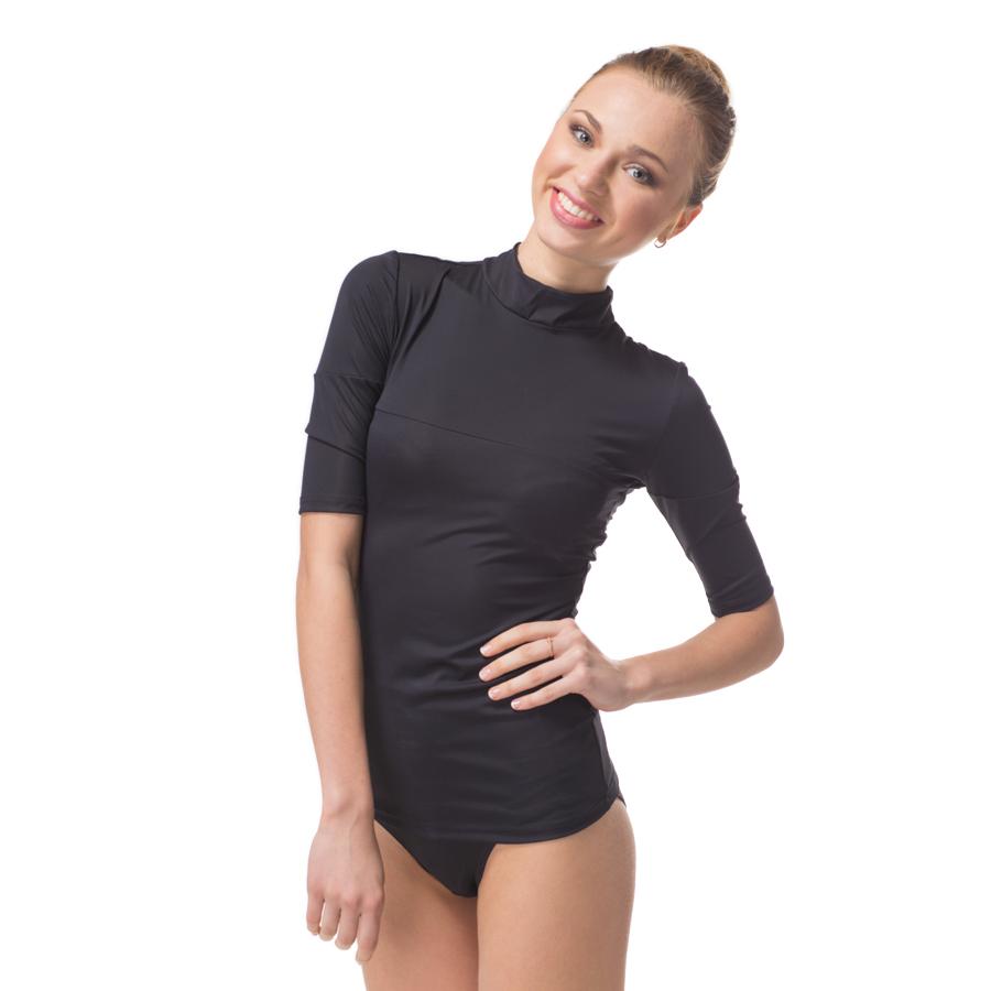 Жен. кофта Коррекция тела Черный р. 50-52Косметический текстиль<br><br><br>Тип: Жен. кофта<br>Размер: 50-52<br>Материал: Полиэстер