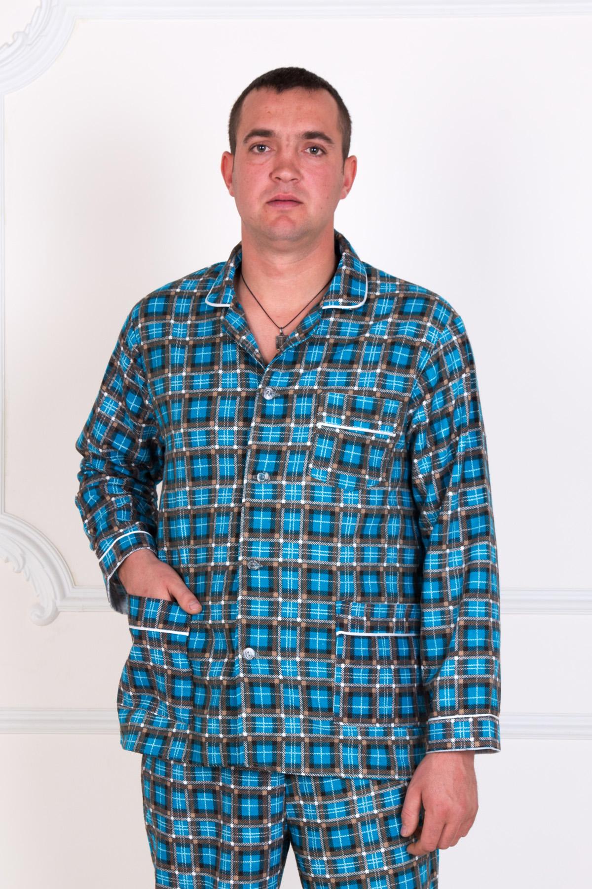 Муж. пижама арт. 18-0150 р. 62 - Мужская одежда артикул: 22275