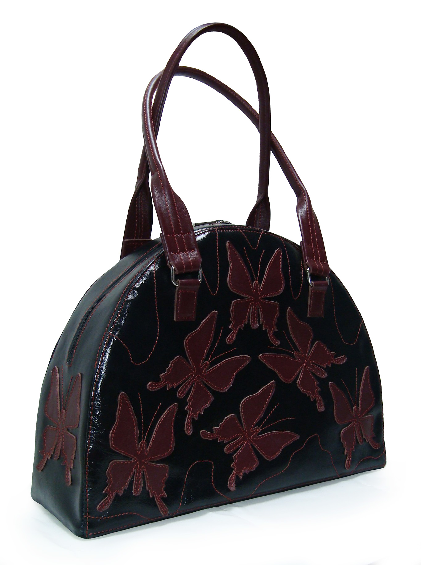 Сумка Модель № 34-3Сумки и др. изделия из кожи<br>Высота сумки: 30 см <br>Ширина сумки низ: 42 см <br>Ширина дна: 14 см <br>Длинна ручек: 60 см<br><br>Тип: Сумка<br>Размер: -<br>Материал: Натуральная кожа