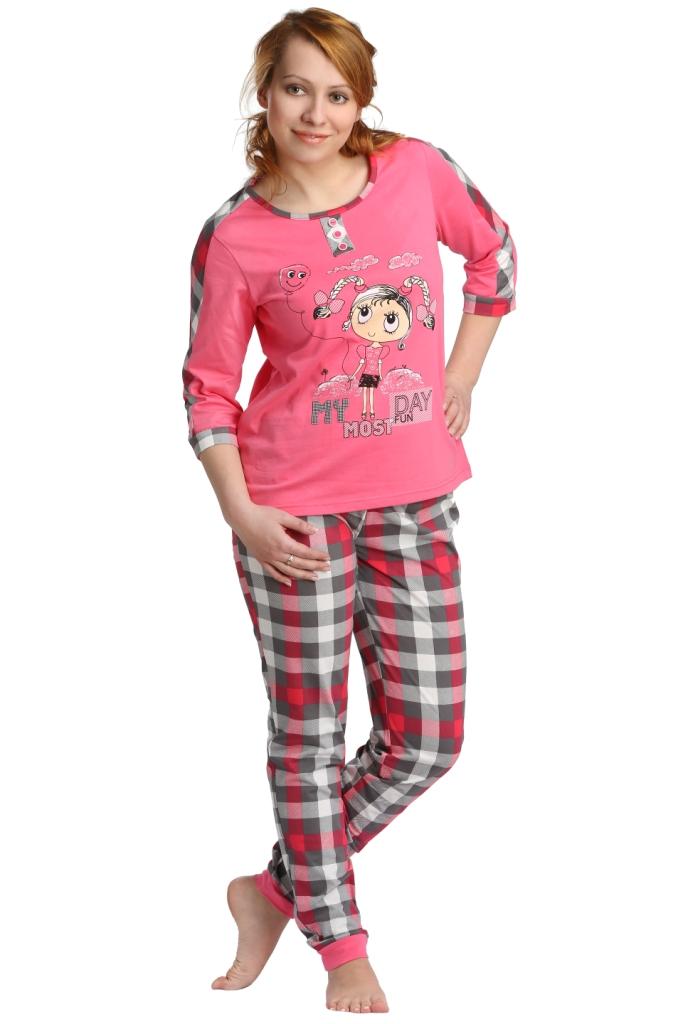 Жен. костюм арт. 16-0098 Розовый р. 46 - Женская одежда артикул: 22855
