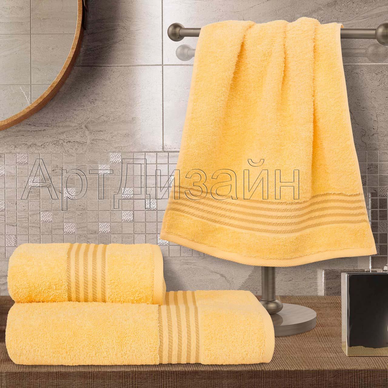 Полотенце Классик Светло-желтый р. 50х90Махровые полотенца<br>Плотность:400 г/кв. м<br><br>Тип: Полотенце<br>Размер: 50х90<br>Материал: Махра