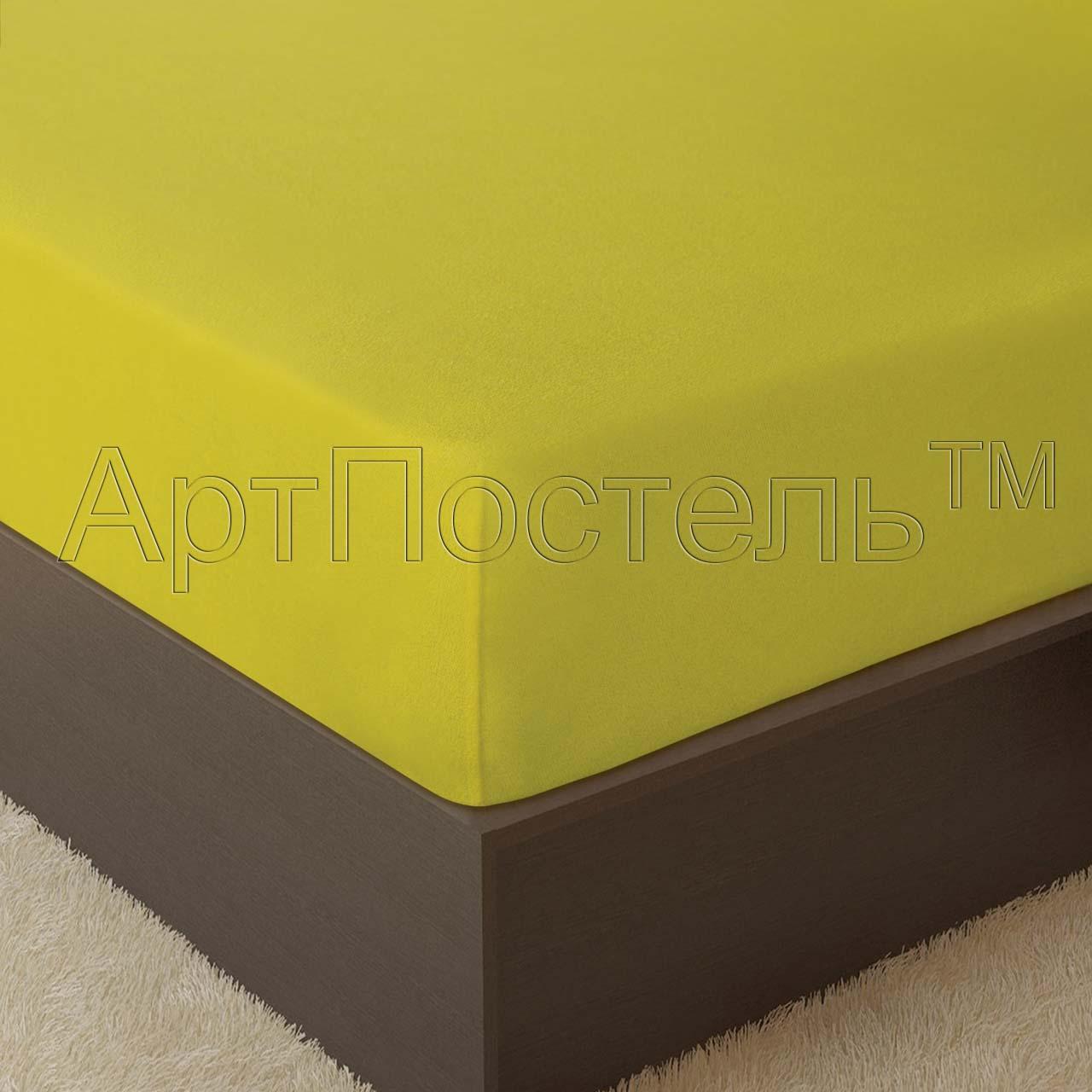 Простыня Лимон р. 120х200Простыни<br>Плотность: 160 г/кв. м <br>Высота матраса: 20 см<br><br>Тип: Простыня<br>Размер: 120х200<br>Материал: Махра
