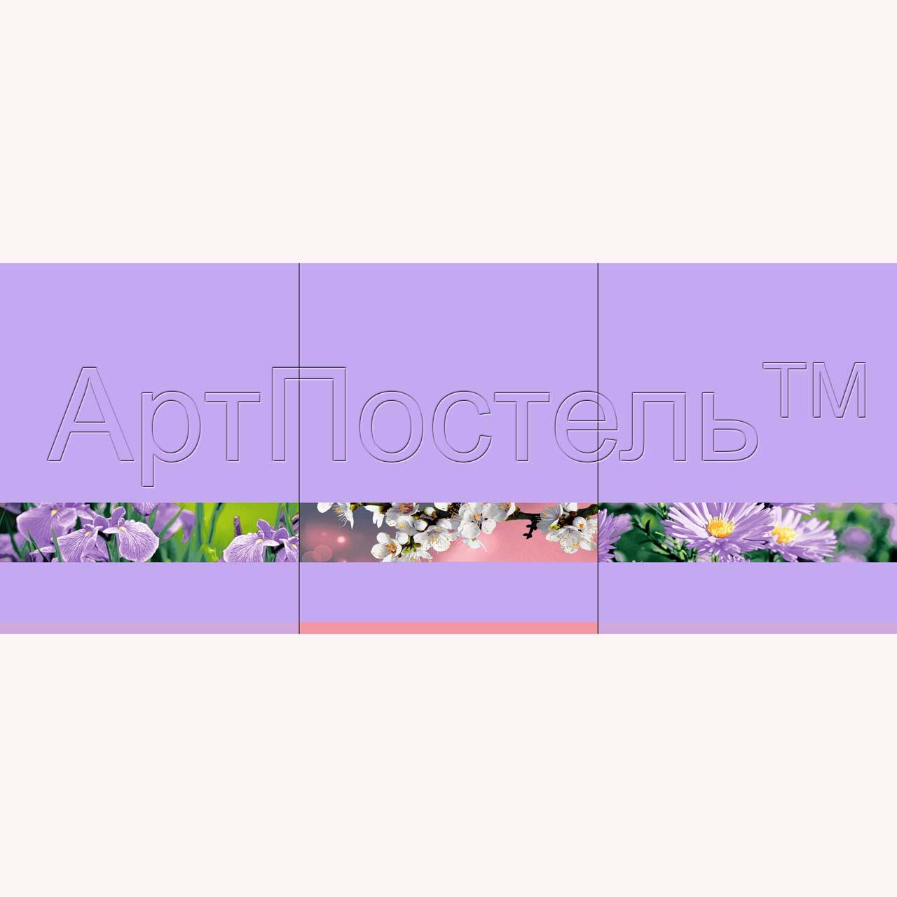 Набор полотенец Цветочная палитра Фиолетовый р. 45х60Вафельные полотенца<br>Плотность:160 г/кв. м<br><br>Тип: Набор полотенец<br>Размер: 45х60<br>Материал: Вафельное полотно