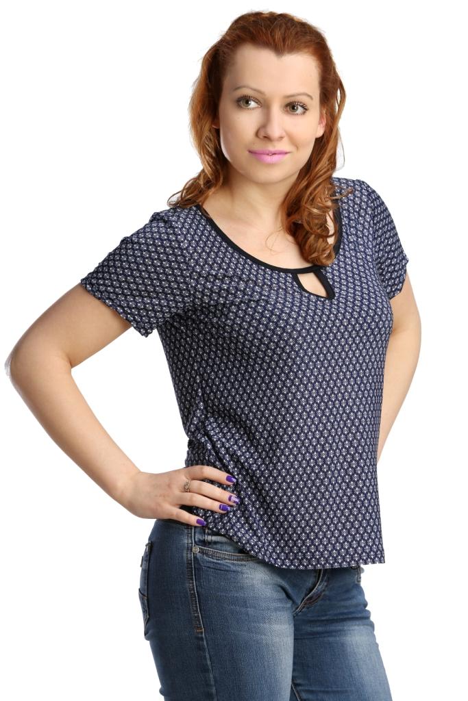 Жен. блуза арт. 1-16-0136 р. 54Блузки, майки, кофты<br>Обхват груди:108 см<br>Обхват талии:90 см<br>Обхват бедер:116 см<br>Длина по спинке:59 см<br>Рост:164-170 см<br><br>Тип: Жен. блуза<br>Размер: 54<br>Материал: Масло