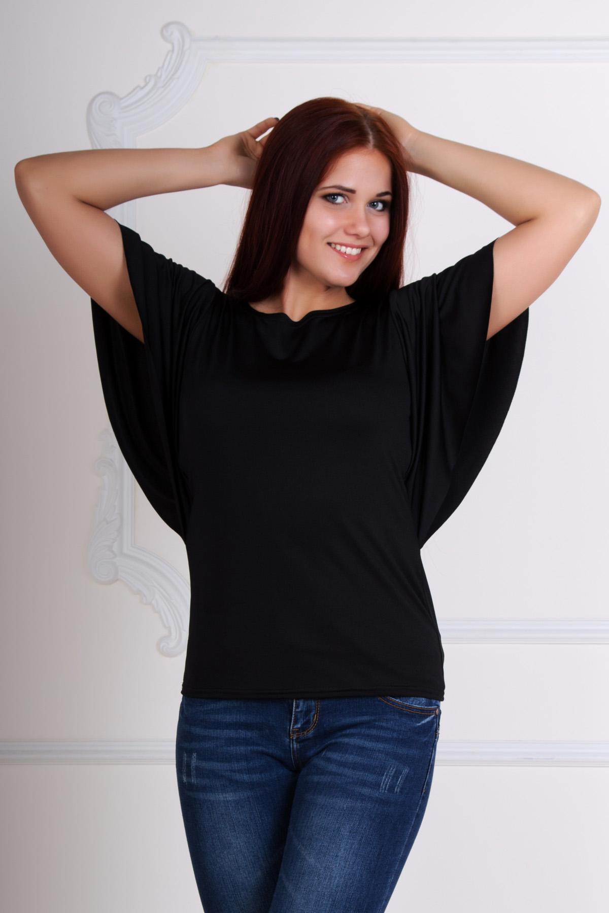 Жен. блуза Кармен р. 48Блузы<br>Обхват груди:96 см<br>Обхват талии:78 см<br>Обхват бедер:104 см<br>Длина по спинке:60 см<br>Рост:167 см<br><br>Тип: Жен. блуза<br>Размер: 48<br>Материал: Масло