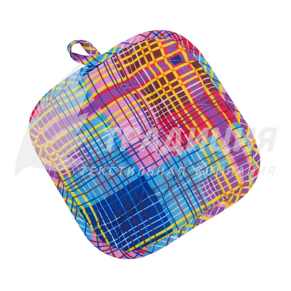 Кухонные принадлежности Прихватка Дачный пикник Квадратная р. 18х18Кухонные принадлежности<br>Наполнитель: 100% пэ, синтепон <br>Плотность наполнителя: 150 г/кв. м<br><br>Тип: Кухонные принадлежности<br>Размер: 18х18<br>Материал: Бязь
