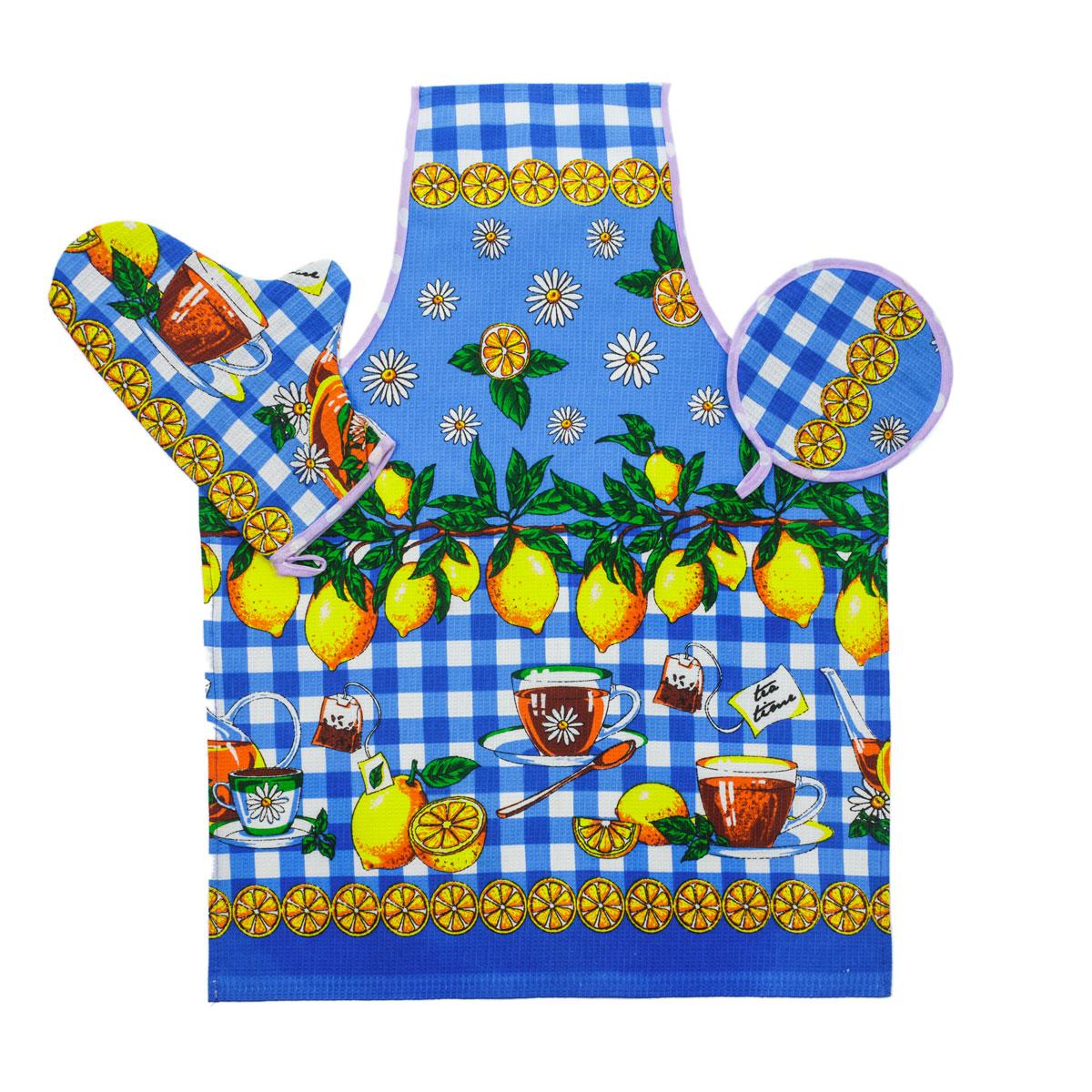 Кухонные принадлежности арт. 04-0040Кухонные принадлежности<br><br><br>Тип: Кухонные принадлежности<br>Размер: -<br>Материал: Вафельное полотно