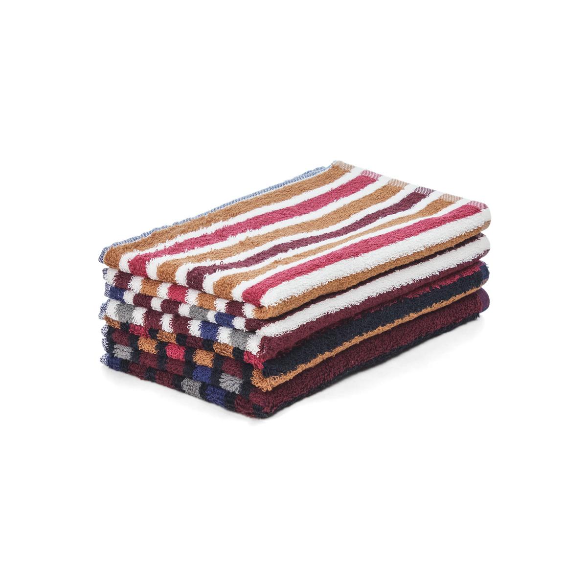 Полотенце Полосы Коричневый с белым р. 50х100Махровые полотенца<br><br><br>Тип: Полотенце<br>Размер: 50х100<br>Материал: Махра