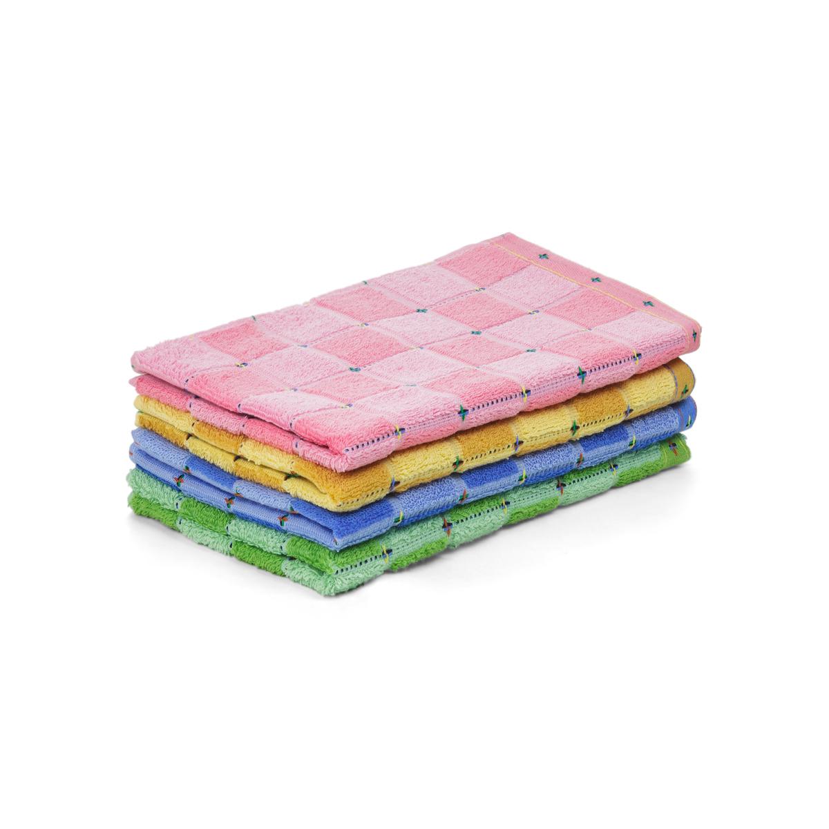 Полотенце Клетка Желтый р. 34х78Махровые полотенца<br><br><br>Тип: Полотенце<br>Размер: 34х78<br>Материал: Махра