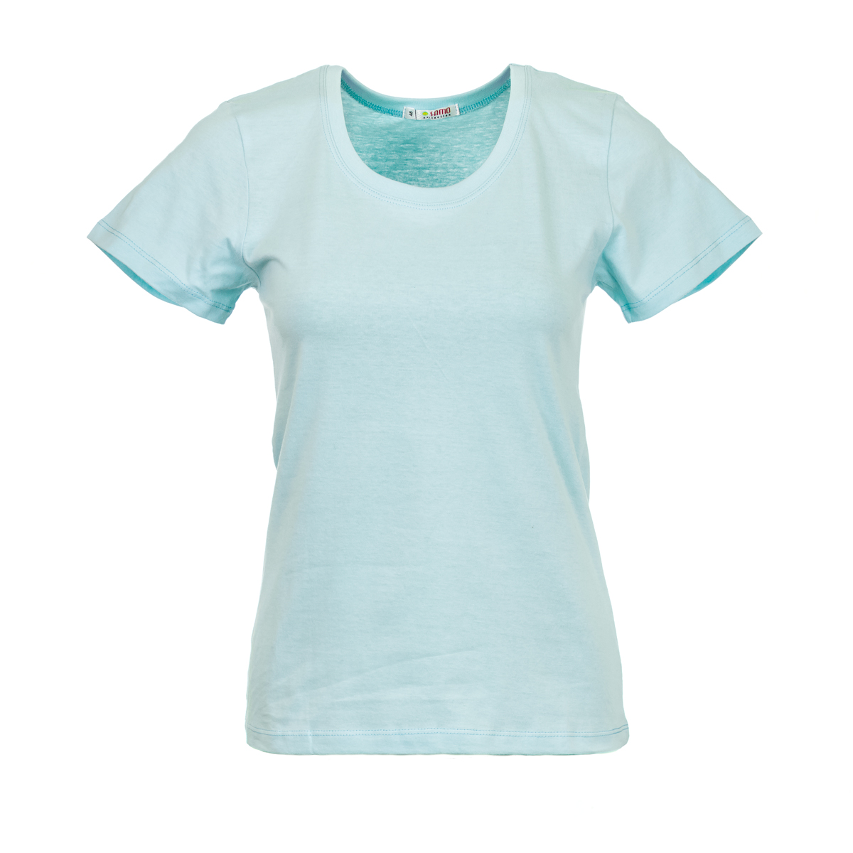 Жен. футболка арт. 04-0045 Розовый р. 52Майки и футболки<br>Фактический ОГ:90 см<br>Фактический ОТ:88 см<br>Фактический ОБ:98 см<br>Длина по спинке:62 см<br>Рост:164-170 см<br><br>Тип: Жен. футболка<br>Размер: 52<br>Материал: Супрем