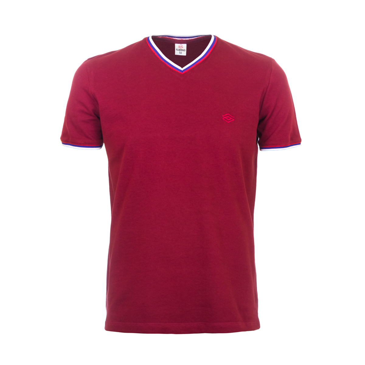Муж. футболка арт. 04-0059 Красный р. 56 Узбекистан