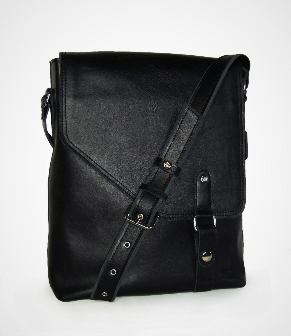 Сумка Модель №10Сумки и др. изделия из кожи<br>Высота сумки: 34 см <br>Ширина сумки: 27 см <br>Ширина дна: 8 см <br>Длинна ремня: 94-115 см <br>Ширина ремня: 3 см<br><br>Тип: Сумка<br>Размер: -<br>Материал: Натуральная кожа
