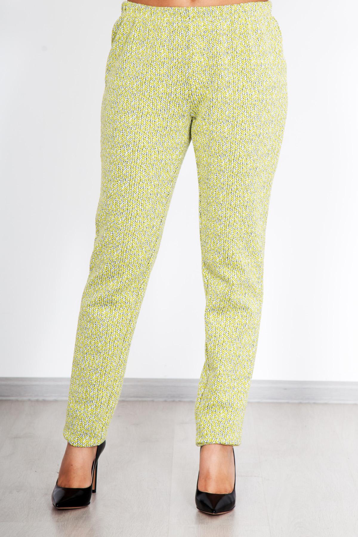 Жен. брюки  Дудочки  Желтый р. 54 - Женская одежда артикул: 25555