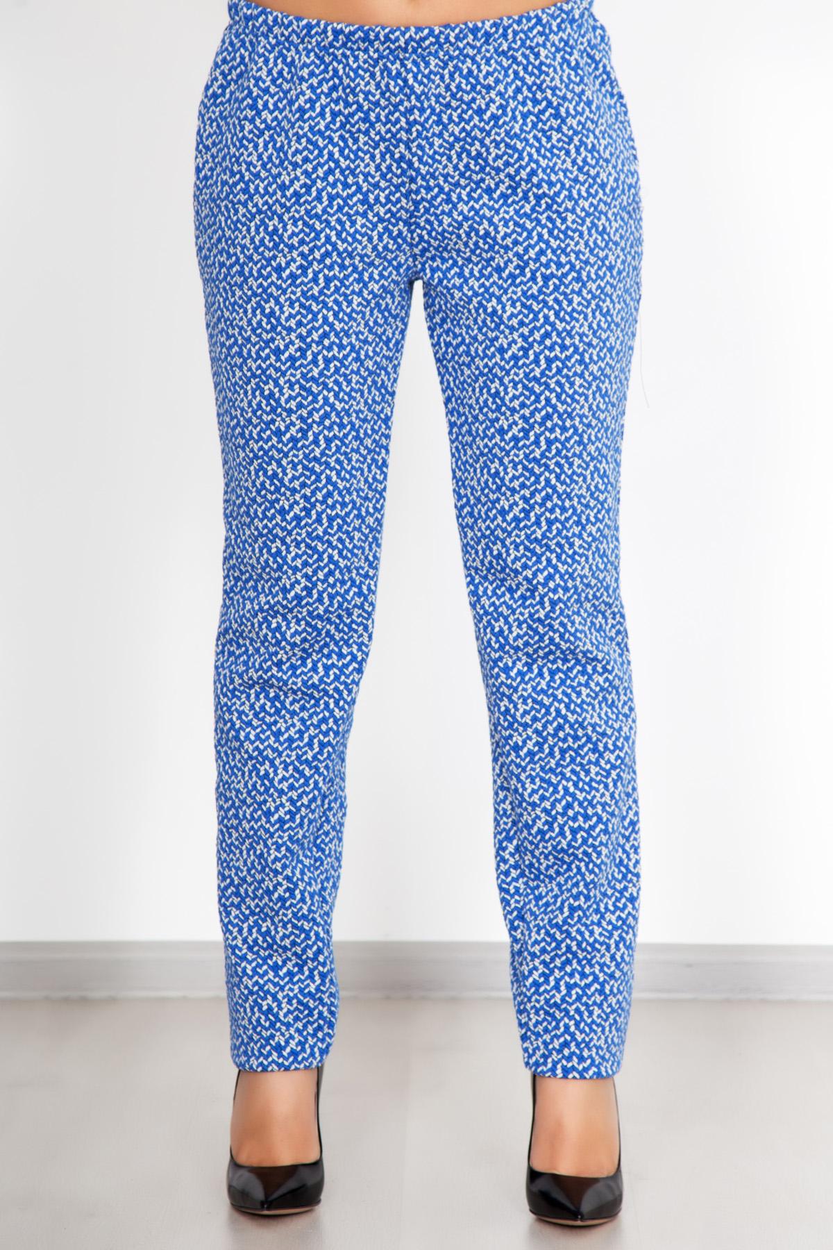 Жен. брюки  Дудочки  Голубой р. 46 - Женская одежда артикул: 25557