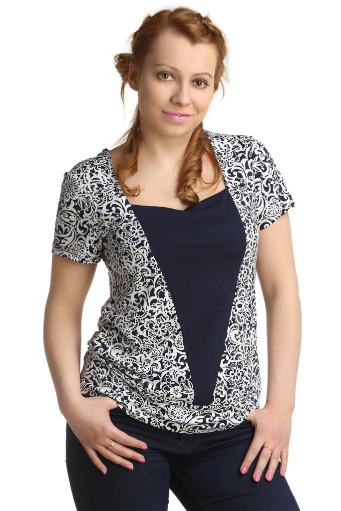 Жен. блуза арт. 16-0167 р. 50Блузы<br>Обхват груди:100 см<br>Обхват талии:82 см<br>Обхват бедер:108 см<br>Длина по спинке:61,5 см<br>Рост:164-170 см<br><br>Тип: Жен. блуза<br>Размер: 50<br>Материал: Вискоза