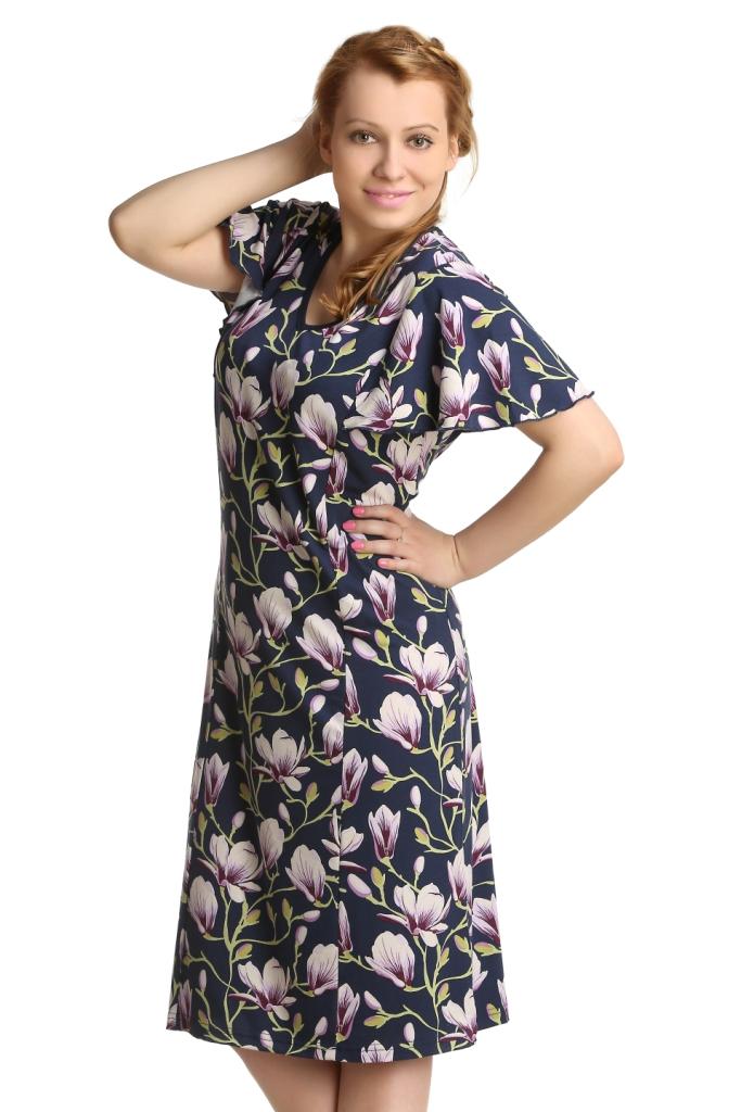 Жен. платье арт. 16-0162 Сиреневый р. 58 - Женская одежда артикул: 25334