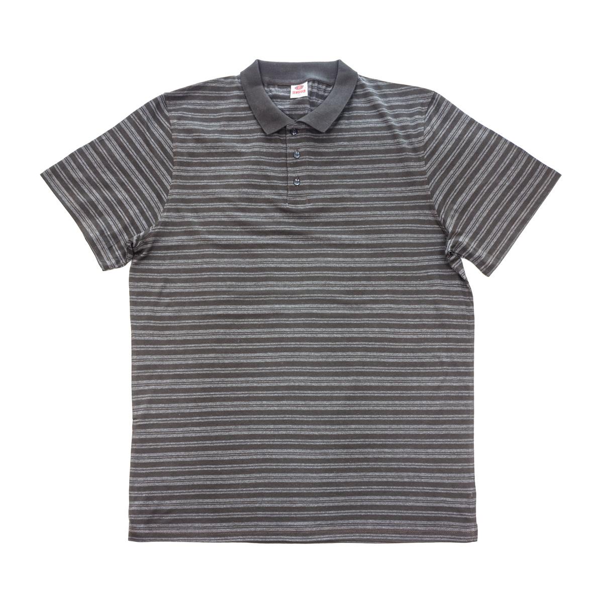 Муж. футболка арт. 04-0046 Кофейный р. 62 - Мужская одежда артикул: 25690