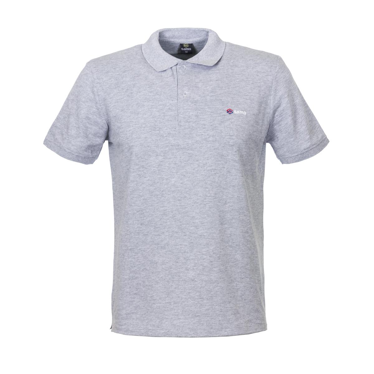 Муж. футболка арт. 04-0048 Серый р. 48 - Мужская одежда артикул: 25698