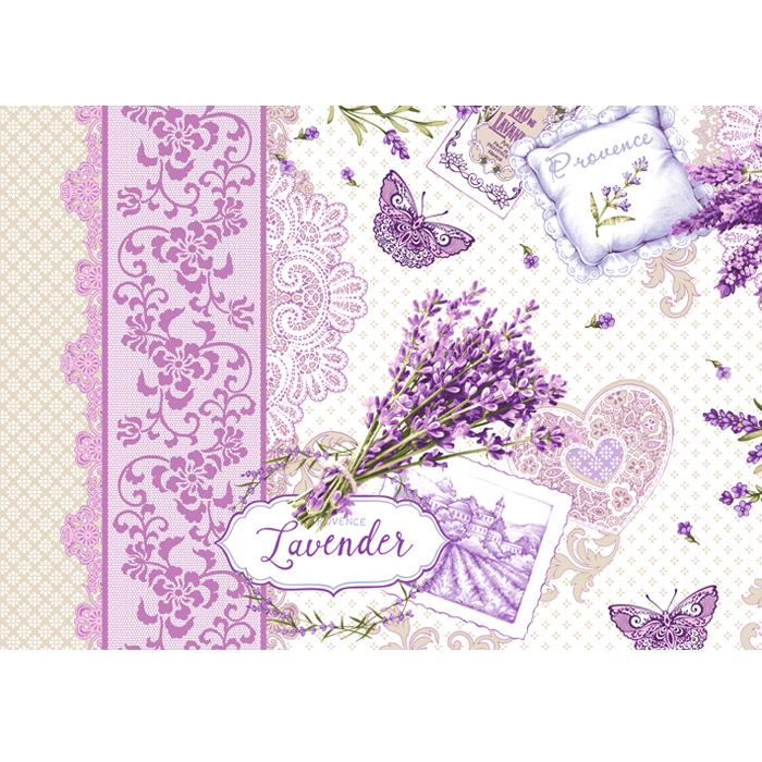 Вафельное полотенце Лаванда р. 47х70Полотенца вафельные<br>Плотность ткани: 170 г/кв. м<br><br>Тип: Вафельное полотенце<br>Размер: 47х70<br>Материал: Вафельное полотно