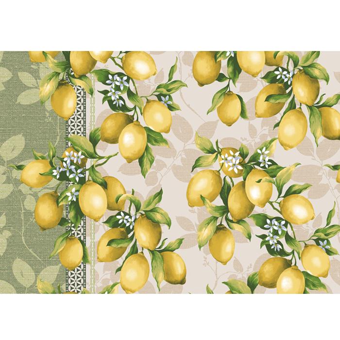 Вафельное полотенце Лимоны р. 50х60 вафельное полотенце клубника р 50х60