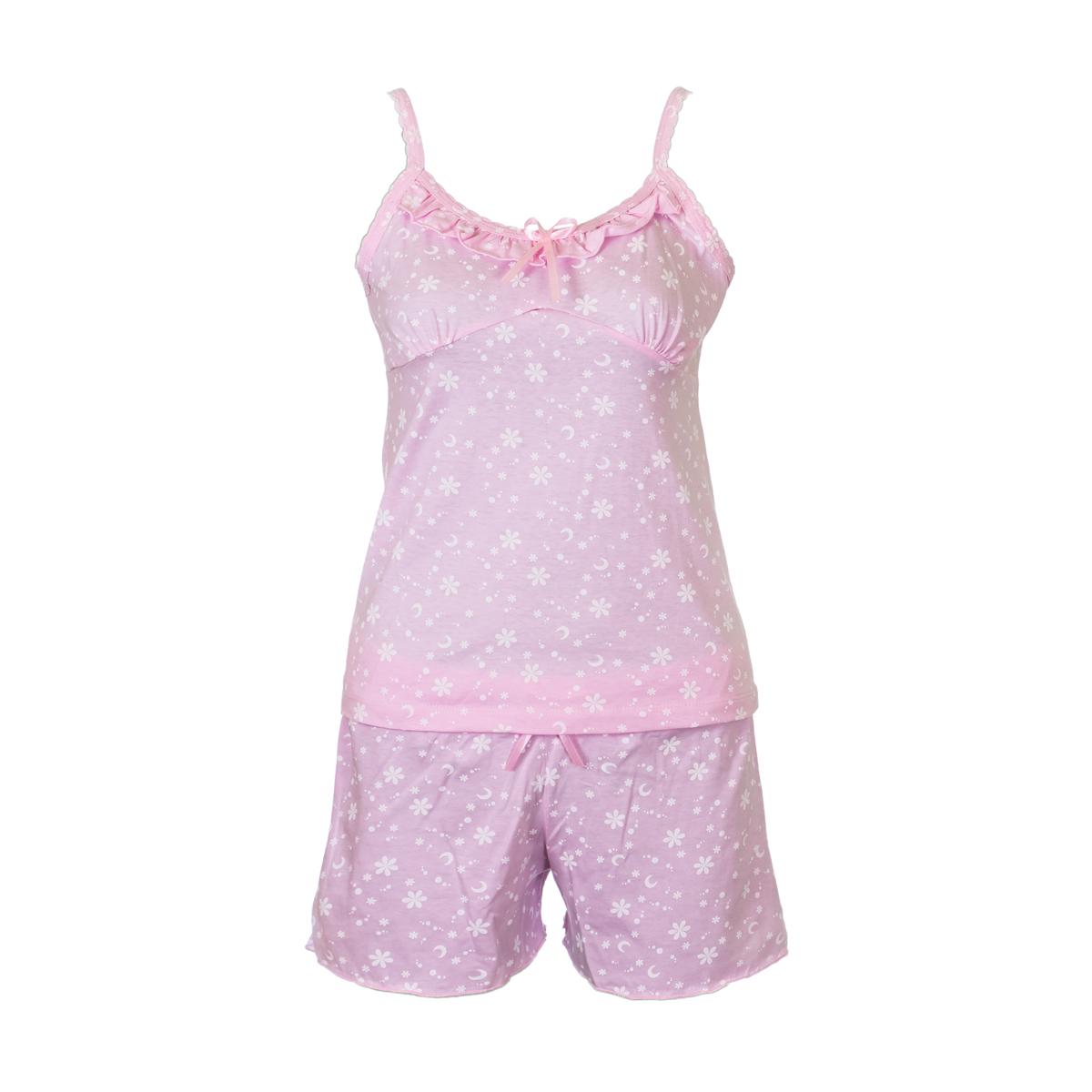 Жен. пижама арт. 04-0064 Розовый р. 52 - Женская одежда артикул: 26390