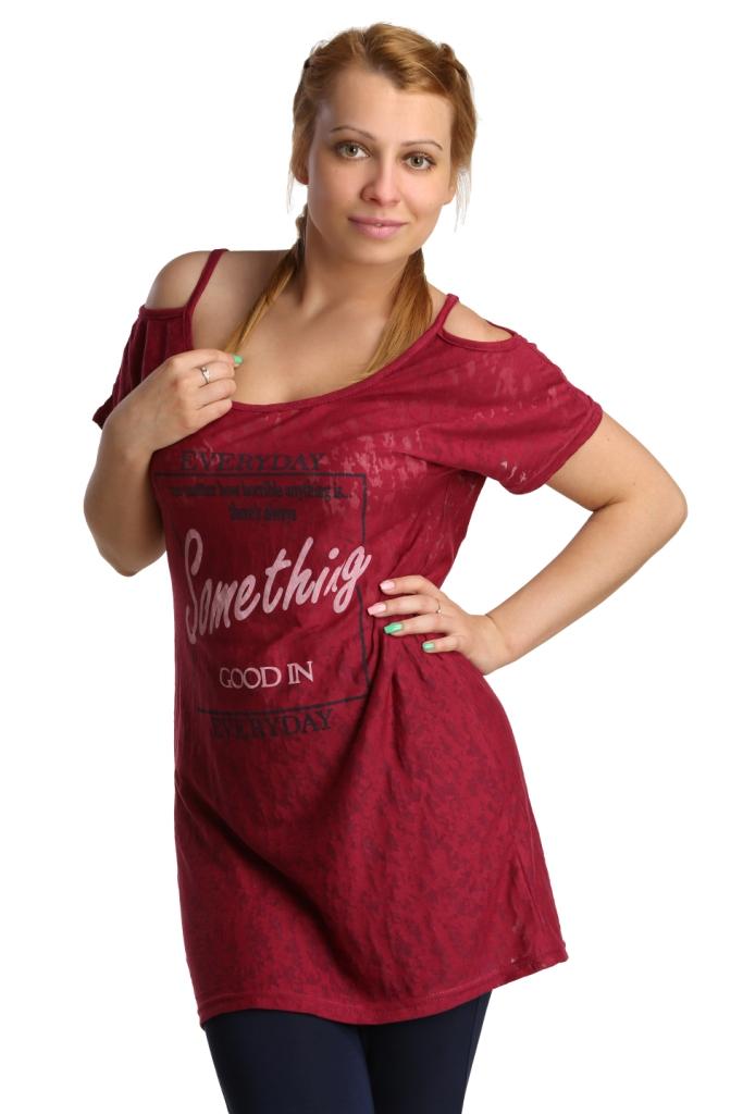 Жен. туника арт. 16-0197 Марсала р. 46 - Женская одежда артикул: 26253