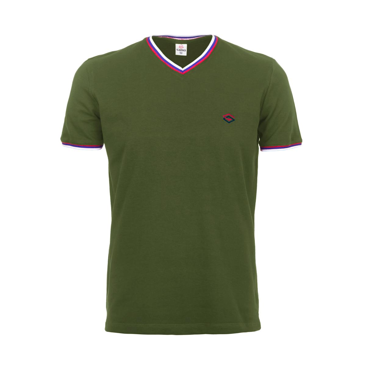 Муж. футболка арт. 04-0059 Хаки р. 50 - Мужская одежда артикул: 26311