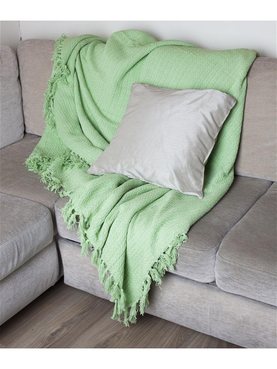 Плед  Клевер  Салатовый р. 160х220 - Текстиль для дома артикул: 27538