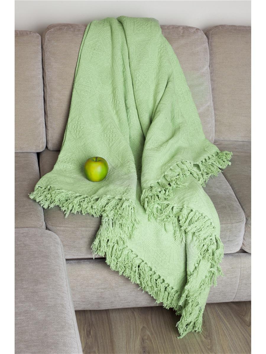 Плед  Лайм  Салатовый р. 160х220 - Текстиль для дома артикул: 26358