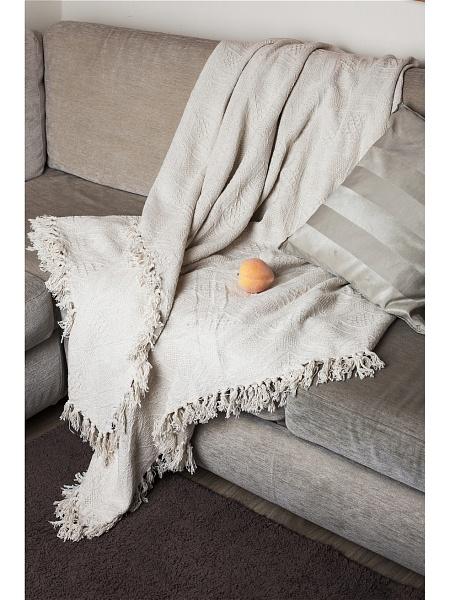 Плед  Ваниль  Бежевый р. 200х240 - Текстиль для дома артикул: 26363