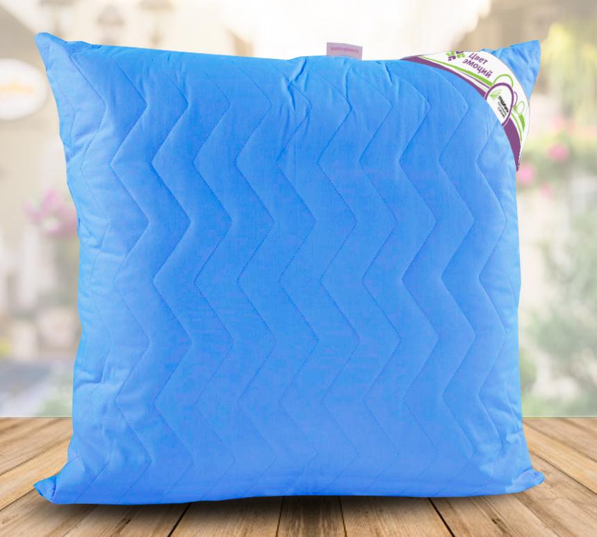 Подушка  Цвет эмоций  Аквамарин р. 70х70 - Текстиль для дома артикул: 26767