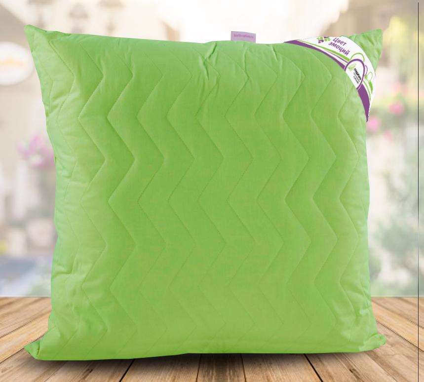 Подушка  Цвет эмоций  Лайм р. 70х70 - Текстиль для дома артикул: 26763