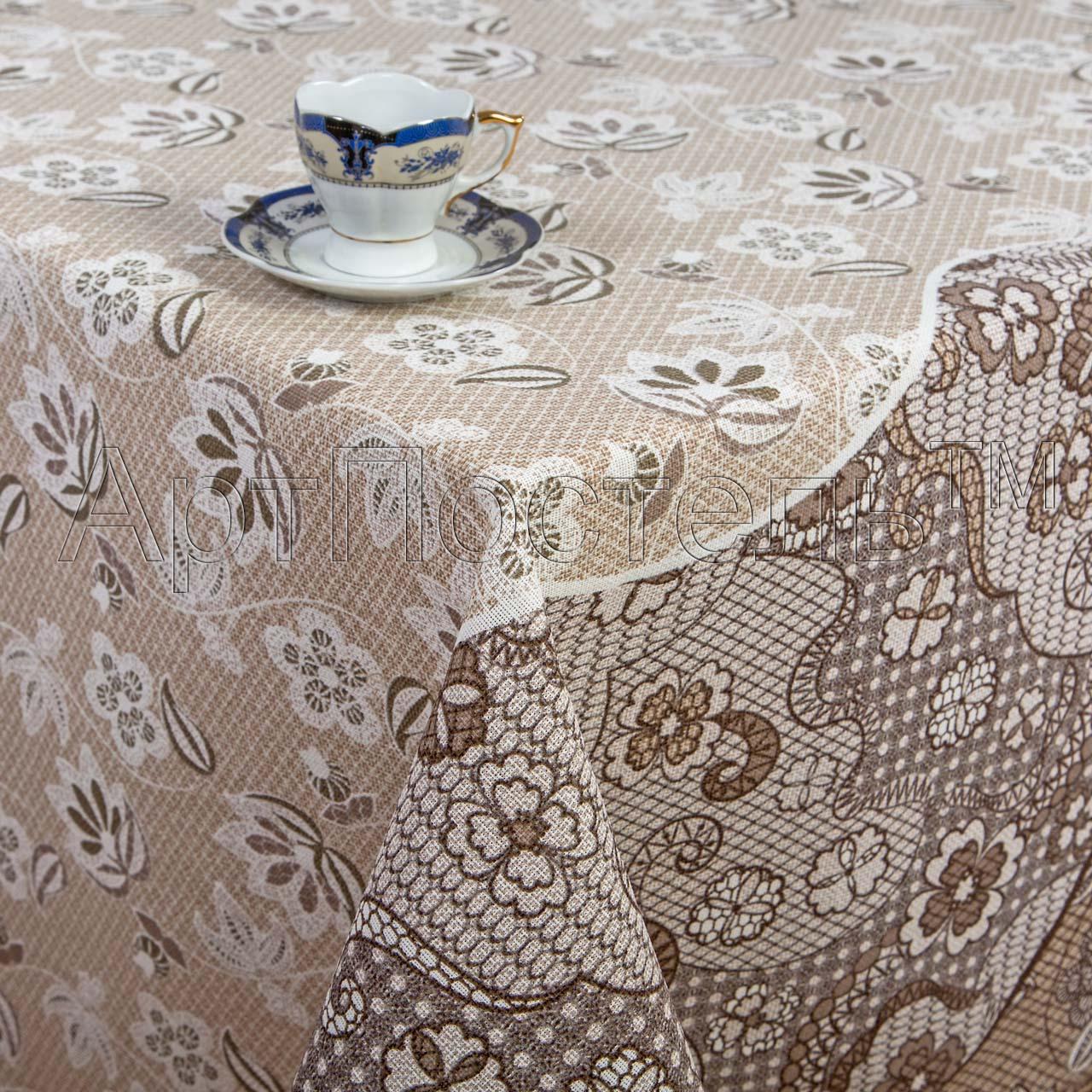 Скатерть Пастель р. 180х145Скатерти<br>Плотность ткани: 160 г/кв. м<br><br>Тип: Скатерть<br>Размер: 180х145<br>Материал: Рогожка