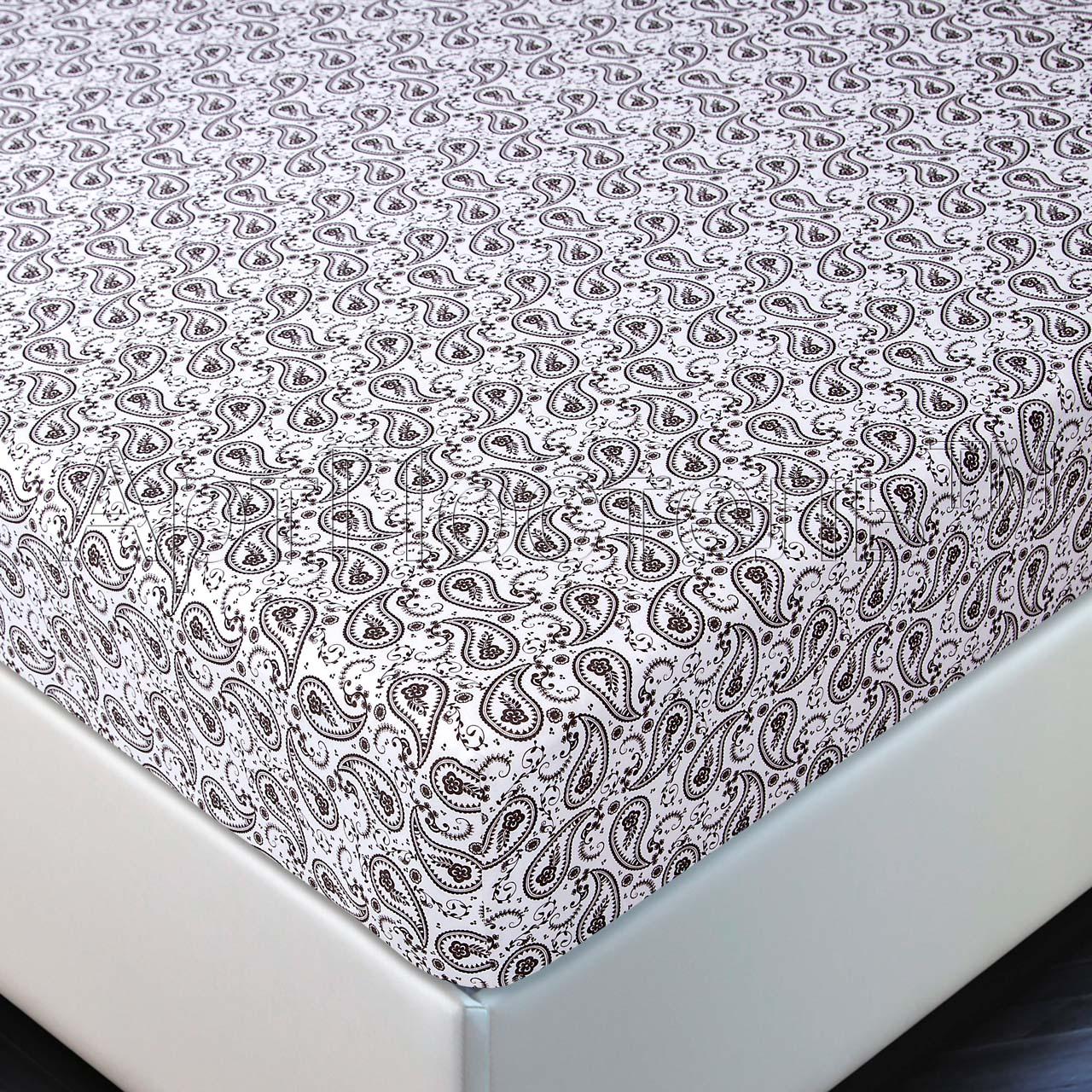 Простыня на резинке Ажур р. 140х200Простыни<br>Плотность ткани:140 г/кв. м<br><br>Тип: Простыня на резинке<br>Размер: 140х200<br>Материал: Кулирка