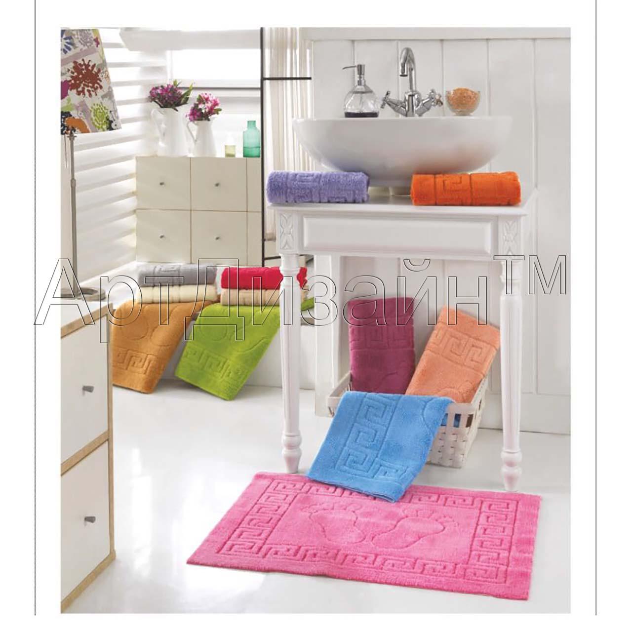 Коврик  Ножки  Капучино р. 50х70 - Текстиль для дома артикул: 27123