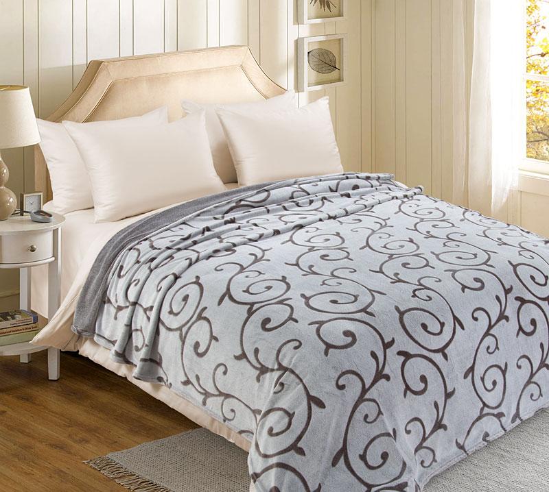 Плед  Узоры  р. 220х200 - Текстиль для дома артикул: 27383