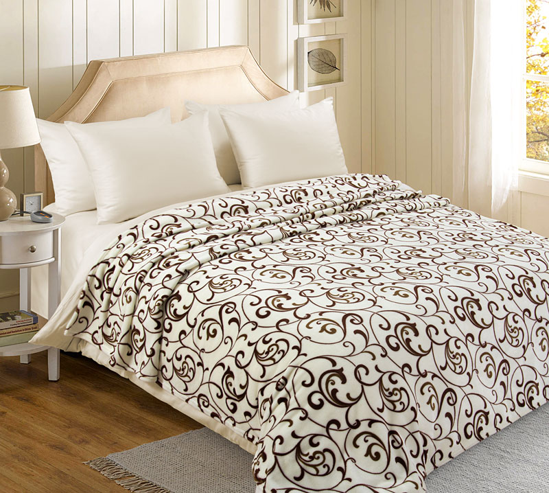Плед  Вензель  р. 220х200 - Текстиль для дома артикул: 27386