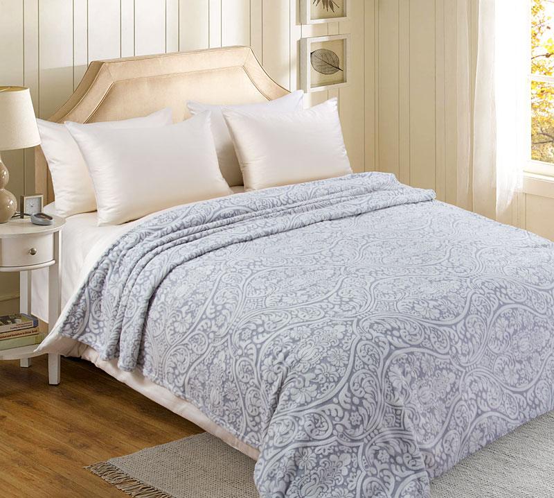 Плед  Жаккард  р. 220х200 - Текстиль для дома артикул: 27392