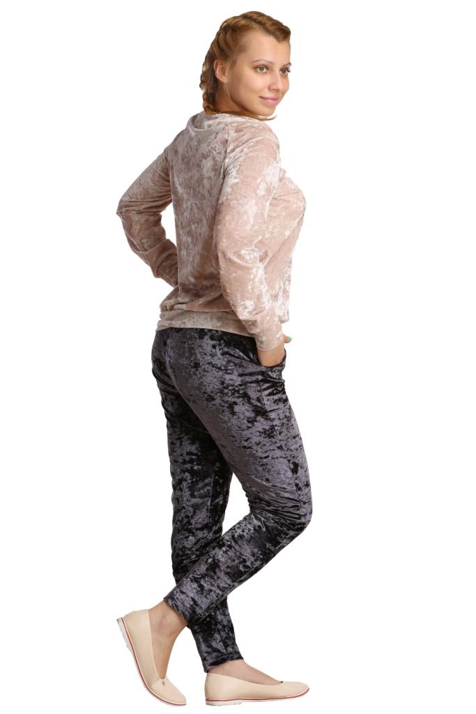 Жен. костюм арт. 16-0205 светло-бежевый р. 50
