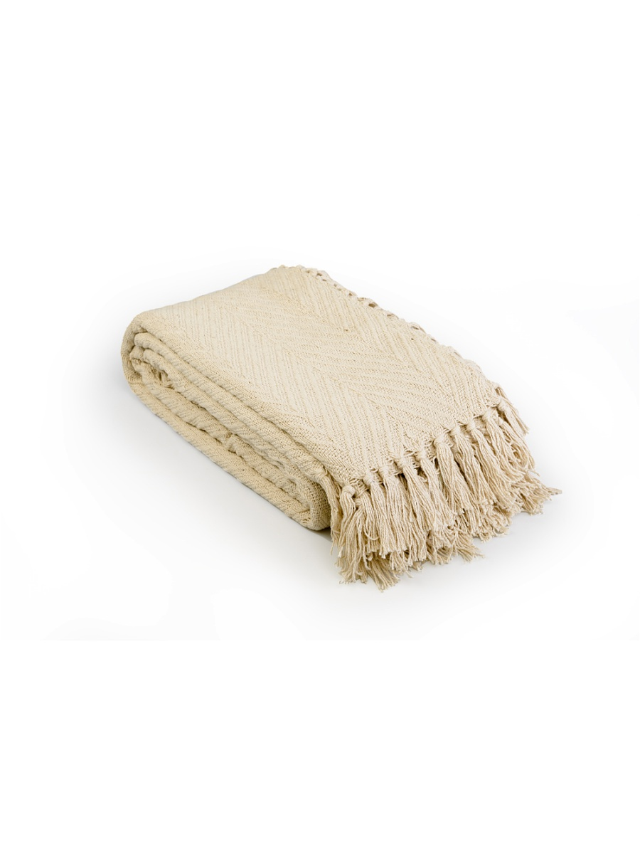 Плед  Анис  Бежевый р. 160х220 - Текстиль для дома артикул: 27542