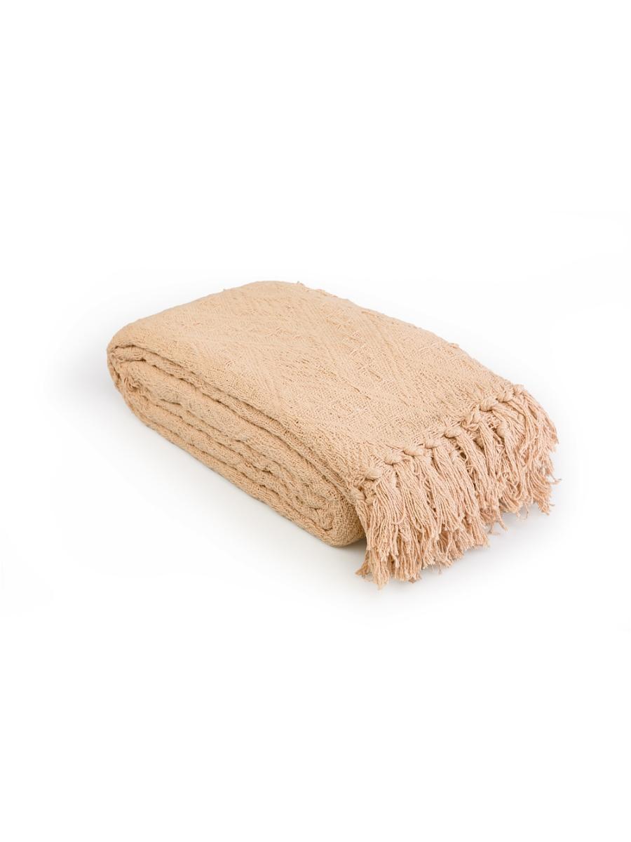 Плед  Сандал  Латте р. 200х240 - Текстиль для дома артикул: 27541