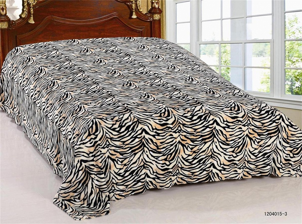 Плед  Зебра  р. 180х200 - Текстиль для дома артикул: 27556