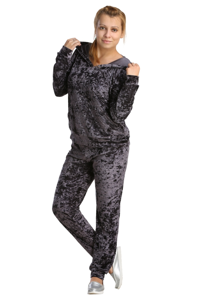 Жен. костюм арт. 16-0217 Темно-серый р. 46 жен костюм арт 16 0220 темно серый р 46