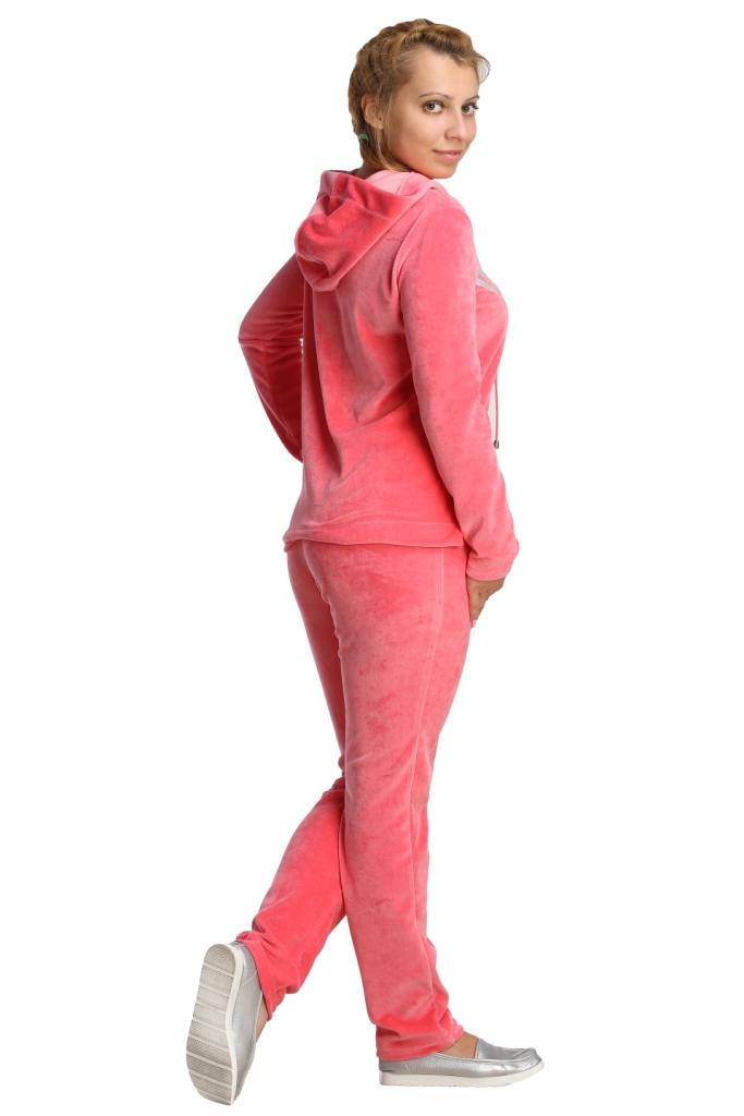 Жен. костюм арт. 16-0219 коралловый р. 52