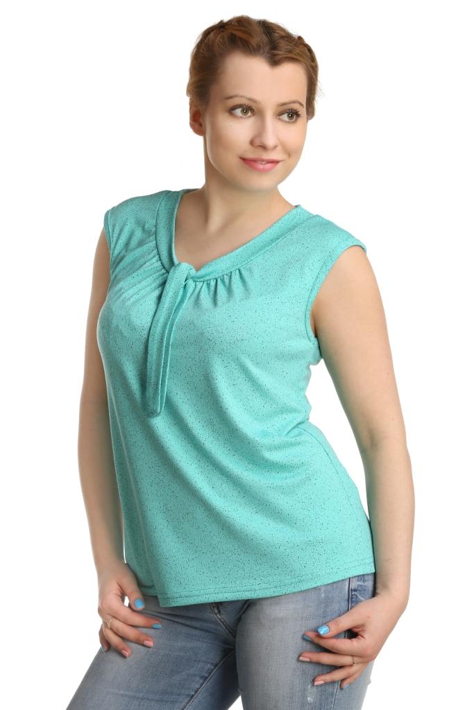 Жен. блуза арт. 16-0222 Зеленый р. 46Блузы<br>Обхват груди:92 см<br>Обхват талии:73 см<br>Обхват бедер:100 см<br>Длина по спинке:60 см<br>Рост:164-170 см<br><br>Тип: Жен. блуза<br>Размер: 46<br>Материал: Вискоза