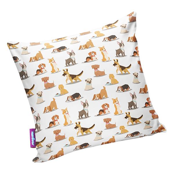 Подушка собачий вальс р. 29х29